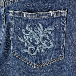 Paige Laurel Canyon embroidered Jeans 28